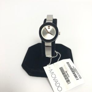 Movado Womens Bold 25mm Silver Rose Gold  Watch